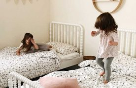 Shared vs separate rooms for children