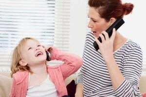 What your child learns by imitating you